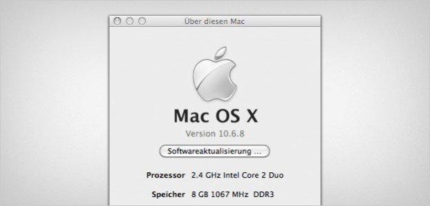 MacBook Pro, late 2008, 8GB Arbeitsspeicher