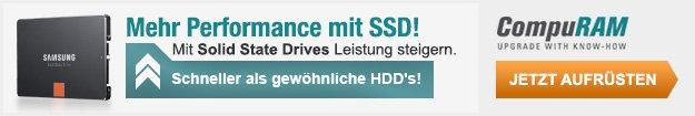 CompuRAM Mehr Performance mit SSD